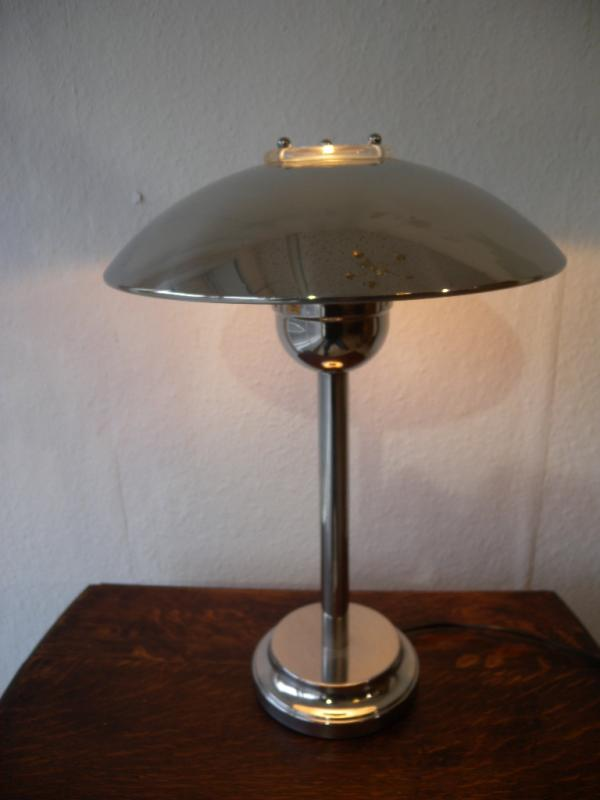exklusive tischlampe im art deco stil luxus lampe table lamp wagenfeld ra ebay. Black Bedroom Furniture Sets. Home Design Ideas