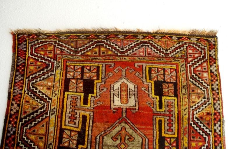 Molto bella antica tappeto da Anatolia (Turchia) SETA