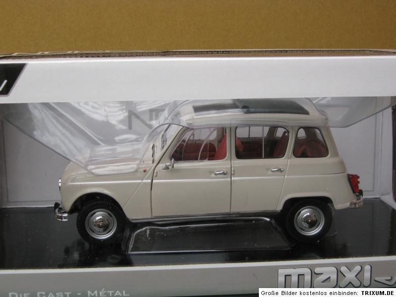 renault 4 r4 1963 1 18 norev modellauto neu ovp ebay. Black Bedroom Furniture Sets. Home Design Ideas