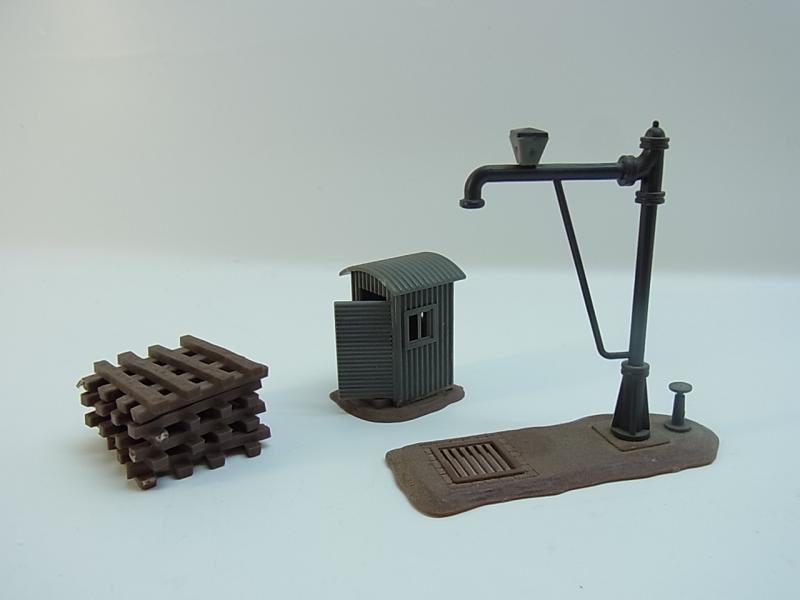 lot 11953 konvolut faller h0 geb ude bahnbauten div lokschuppen stellwerk ebay. Black Bedroom Furniture Sets. Home Design Ideas
