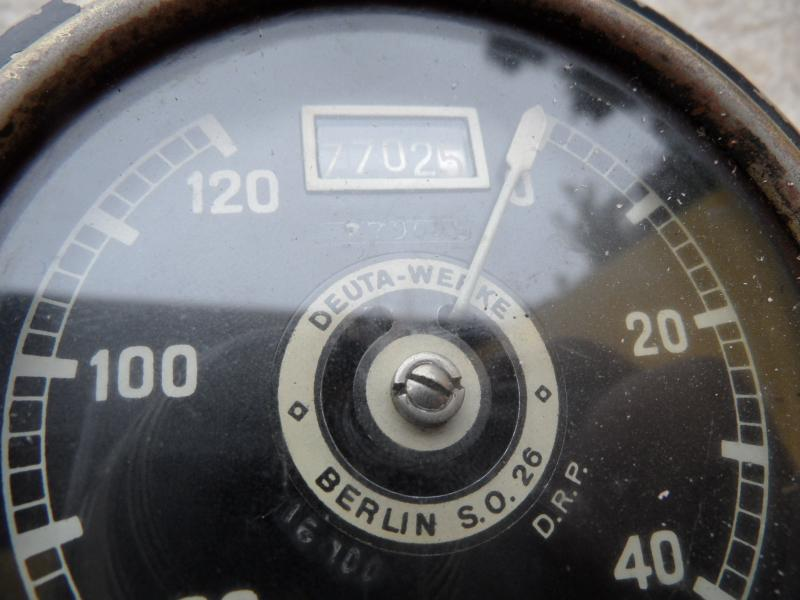 alter deuta berlin auto tacho tachometer 120km h oldtimer ebay. Black Bedroom Furniture Sets. Home Design Ideas