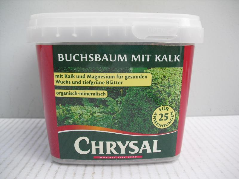 chrysal buchsbaum mit kalk 1 kg d nger pflanzend nger. Black Bedroom Furniture Sets. Home Design Ideas