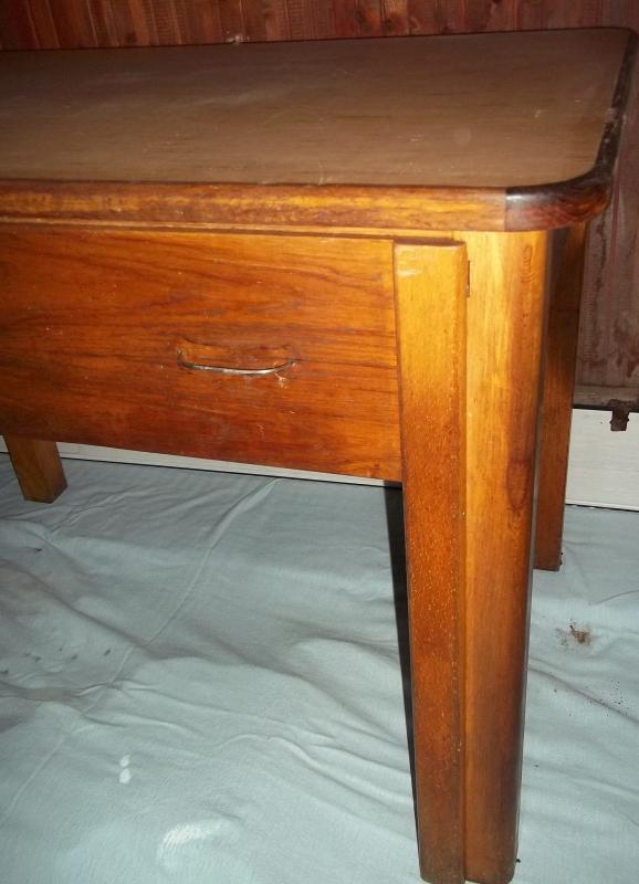 Alter Küchentisch Holz ~ alter abwaschtisch tisch 110×70 küchentisch esstisch holz linoleum 2 schüssel ebay