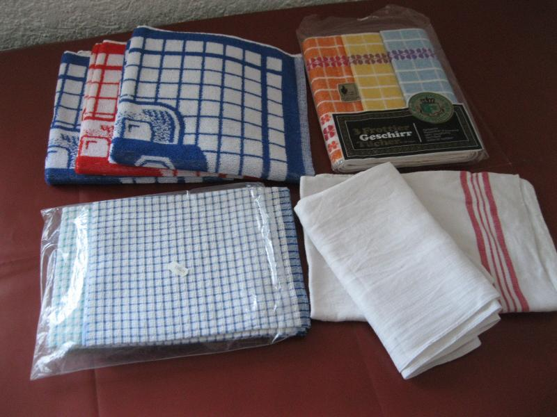 Küchenhandtücher Frottier ~ posten 10 alte küchentücher handtücher beutel auflösung neu gebr leinen frottee ebay