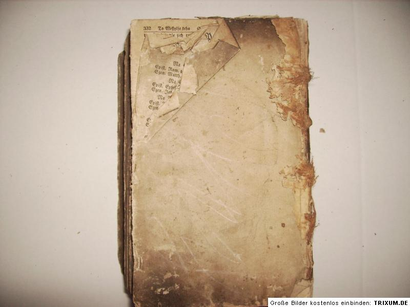 alte sorbische Bibel Biblia Sorben von 1823 Bautzen Jana