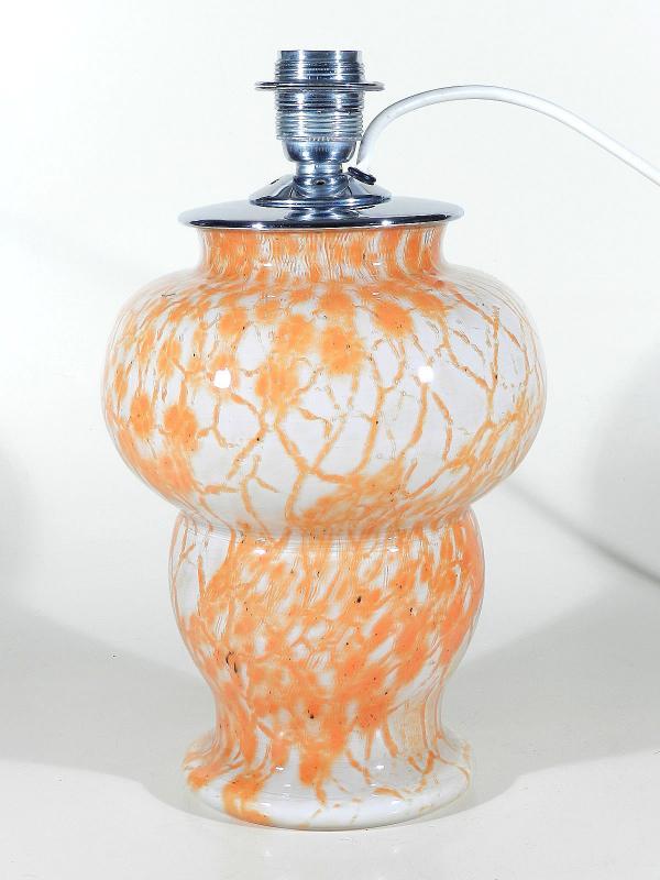 wmf ikora glas lampe 30 39 s tischlampe art deco glass. Black Bedroom Furniture Sets. Home Design Ideas