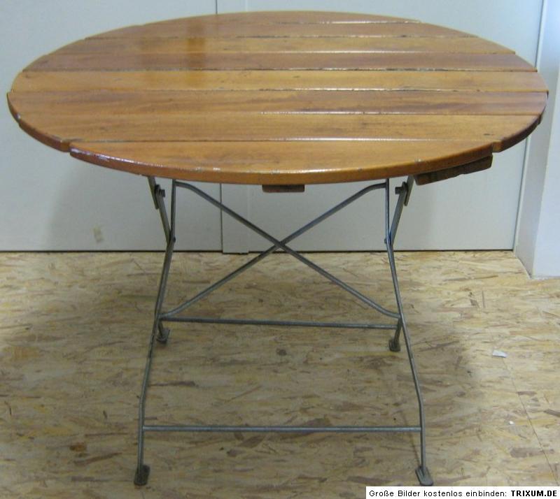 m nchner biergartentisch tisch massiv holz voll verzinkt garten biergarten ebay. Black Bedroom Furniture Sets. Home Design Ideas