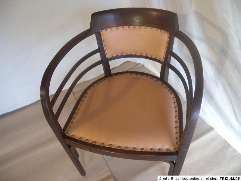 Jugendstil sessel armlehnstuhl stuhl otto wagner thonet for Sessel jugendstil