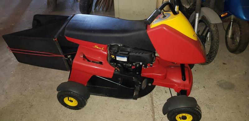 wolf scooter aufsitzm her mit briggs stratton 750 ex motor 161 ccm ebay. Black Bedroom Furniture Sets. Home Design Ideas