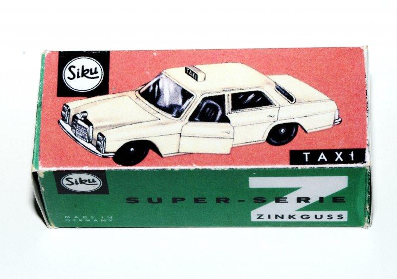 2. Ausführung Mercedes Taxi Reprobox Siku V 244
