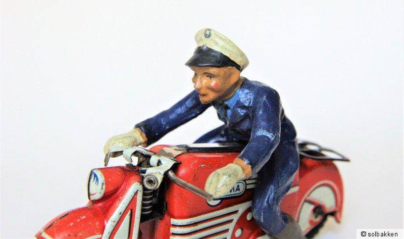 Reprobox für das Gama Motorrad mit Affe Artikelnummer 125