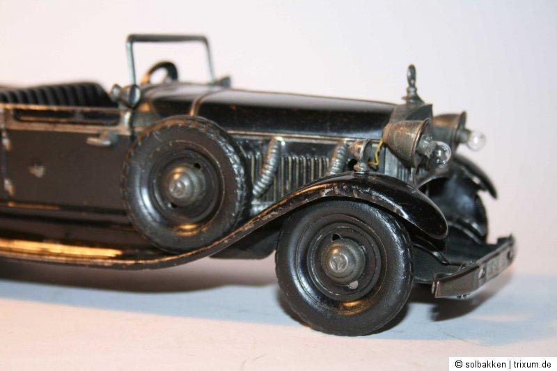 Kompressor Rohre für Tippco Mercedes Führerwagen Nr 934