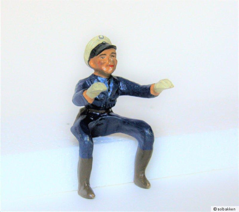 126 Polizist für Gama Motorrad Nr