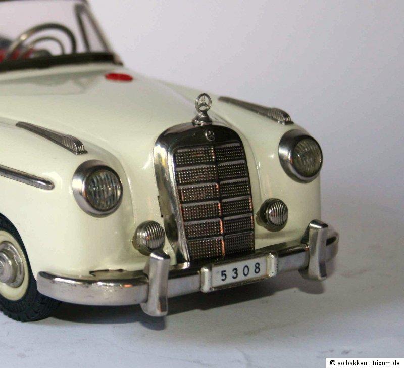Control Car 5308 Mercedes-Stern für Schuco Hydro Car 5720 Rollfix 1085