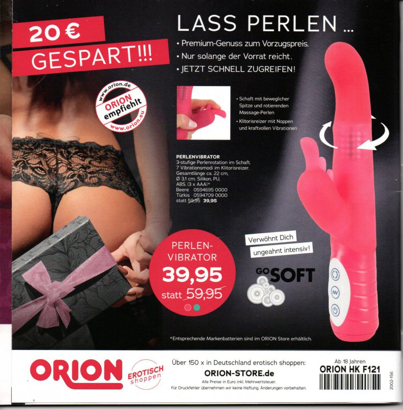Orion KATALOG EROTSCH Shoppen Fühl dich sexy! | eBay