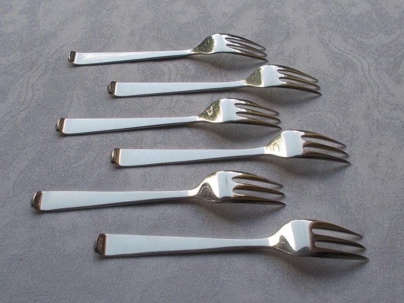 *RAR* Alta von Robbe/&Berking Elegante Kuchengabel in 925er Sterling Silber