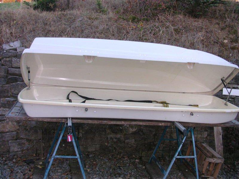auto dachbox sca box 225 cm lang mit halterung f r. Black Bedroom Furniture Sets. Home Design Ideas