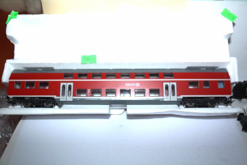 Piko H0 57620  2. Kl. Doppelstock-Sitzwagen DBuza 747.3 der DB Regio Neuware
