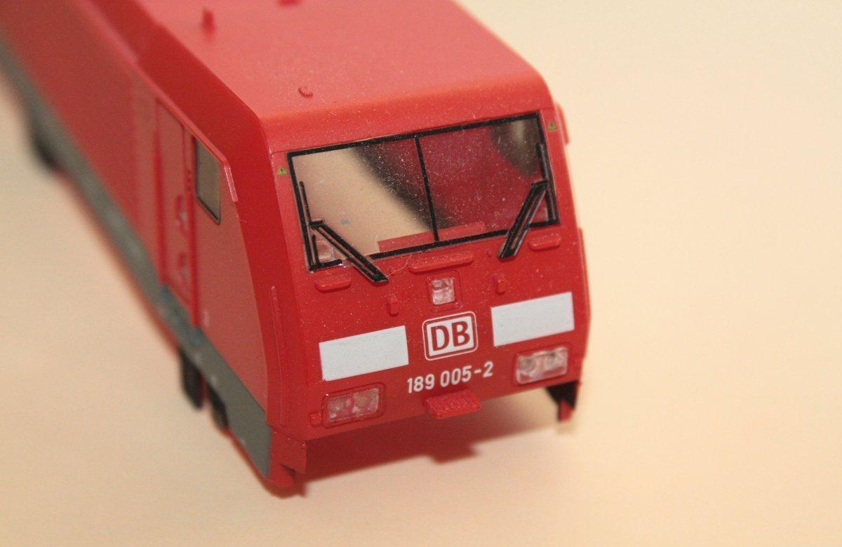 Ersatzteil Piko 189 005-2 Gehäuse DB AG verkehrsrot
