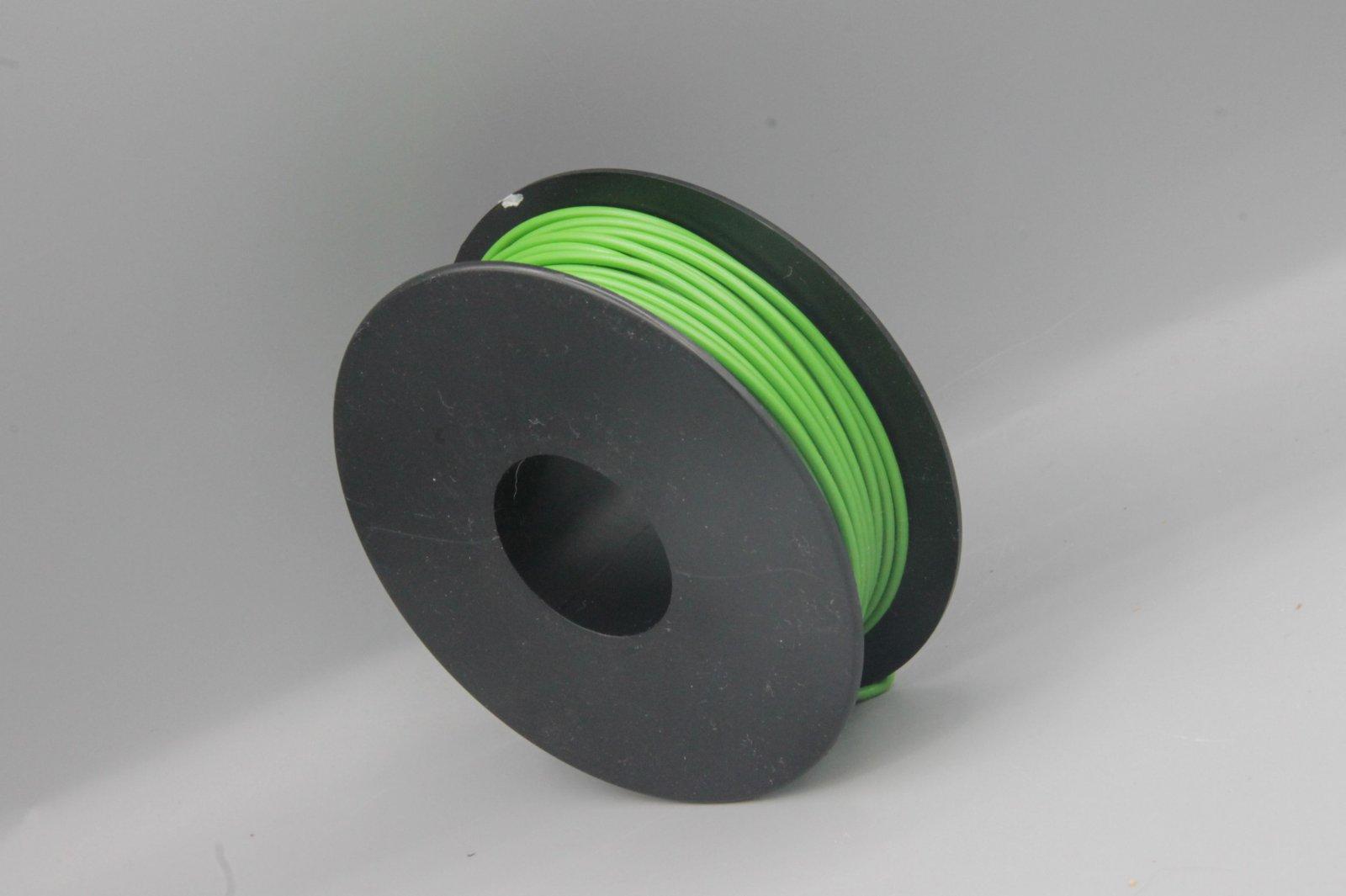 25 m LIYv Kabel Litze grün 0,5 mm² flexibel Kupferlitze Schaltlitze