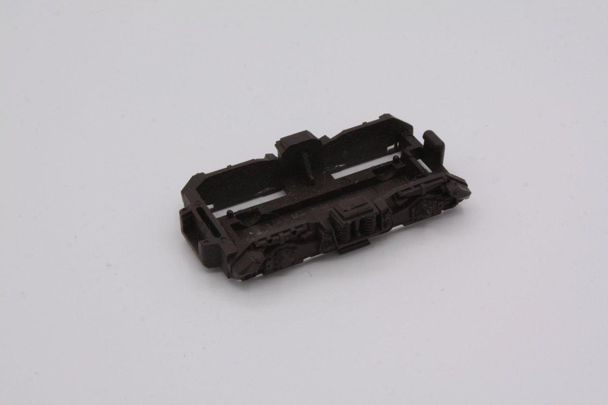 Ersatzteil Roco H0 215 / 218 Drehgestellblende f. mittige Zahnräder braun -Var.2