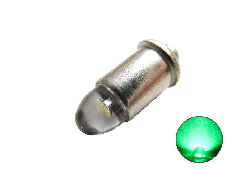 LED Leuchtmittel 600020 MS4 Steckfassung grün 12V bis 22V
