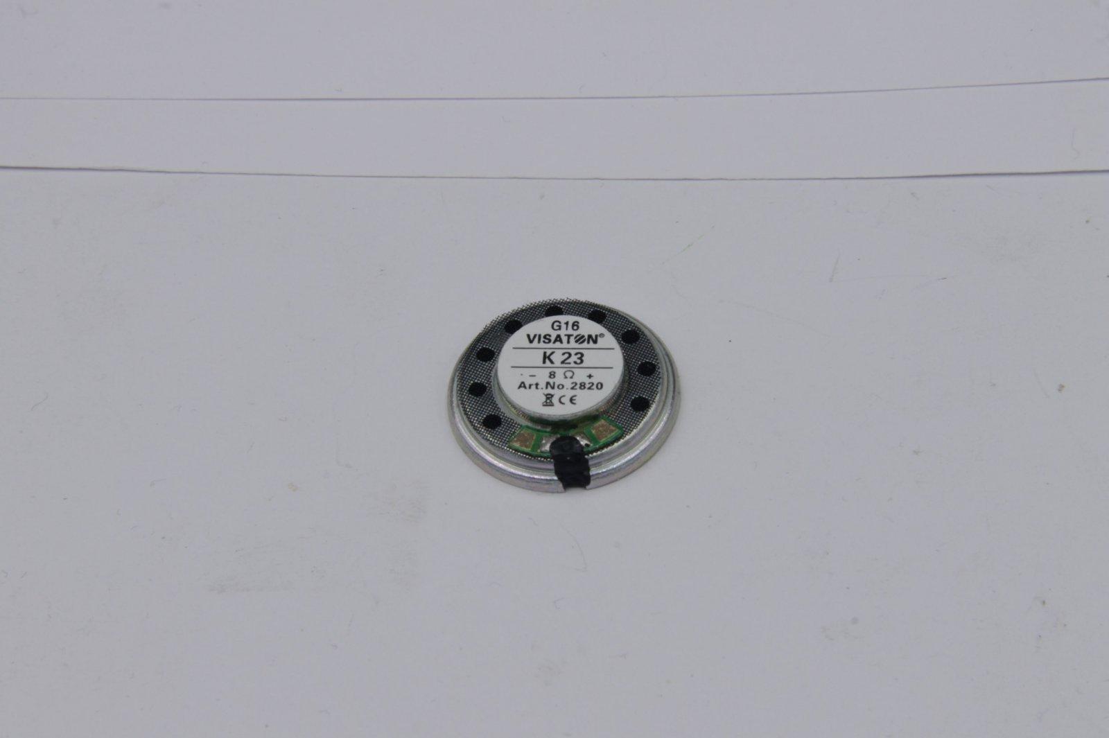 Visaton Lautsprecher 23 mm 8 Ohm