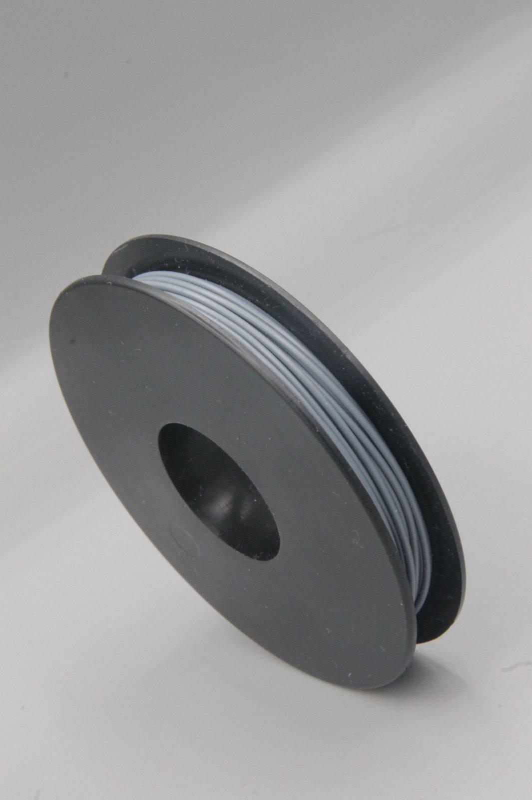 25 m Spule LIYV Kabel Litze flexibel  grau 0,25 mm² Kupferlitze Kabel