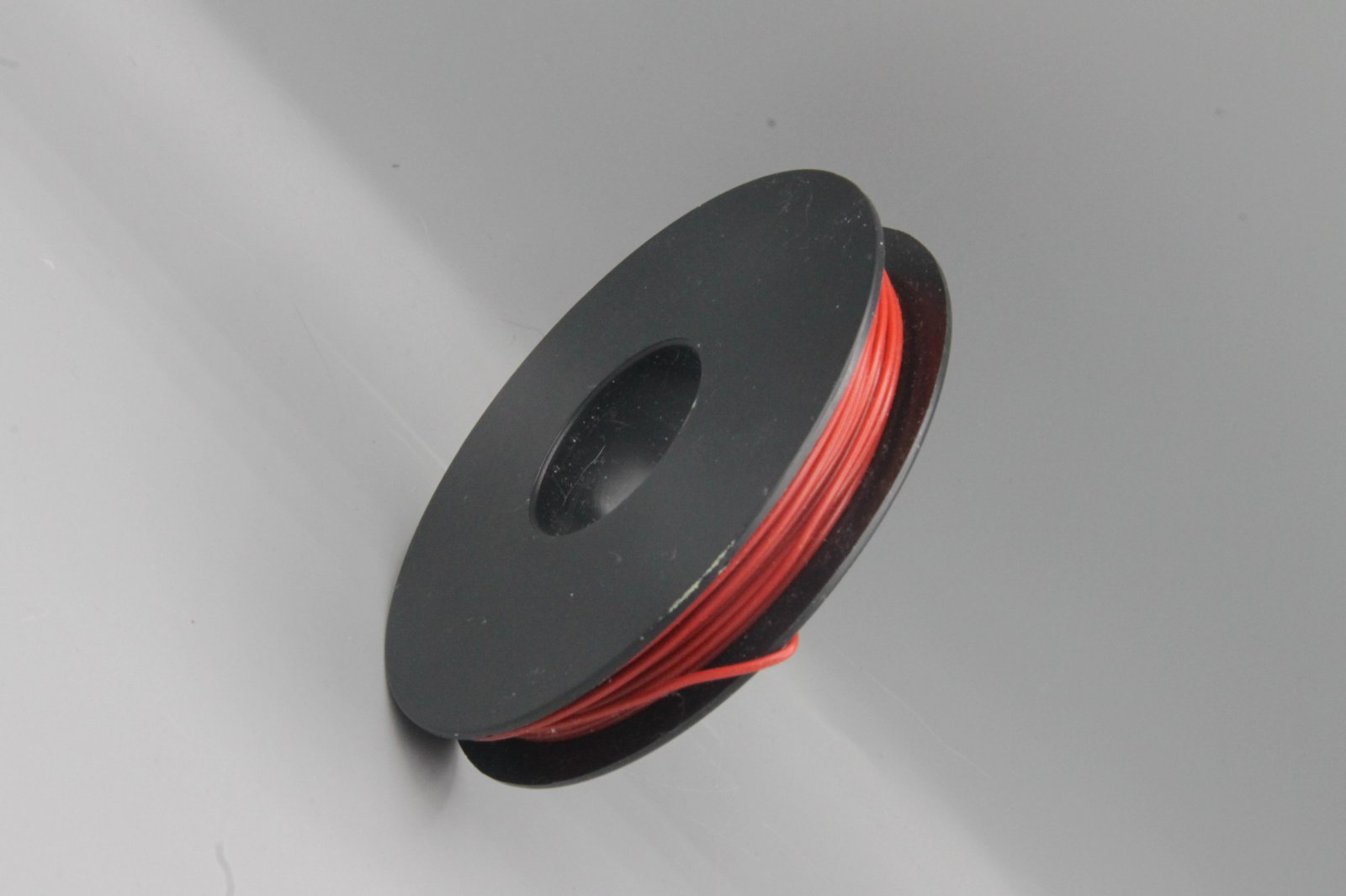 25 m Spule LIYV Kabel Litze flexibel  rot 0,25 mm² Kupferlitze Kabel