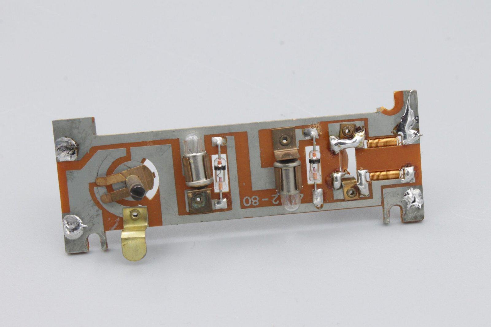 Ersatzteil Roco 140 Platine komplett - mit Glühlampen -älteres Modell (1)
