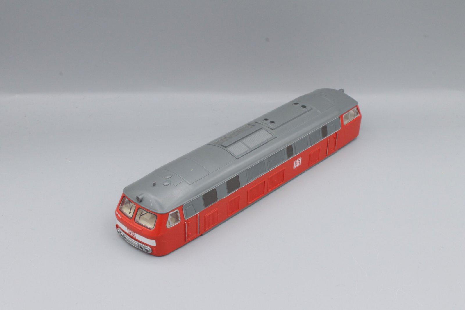 Ersatzteil Piko H0 218 296-2 Gehäuse verkehrsrot DB AG -kleiner Fehler