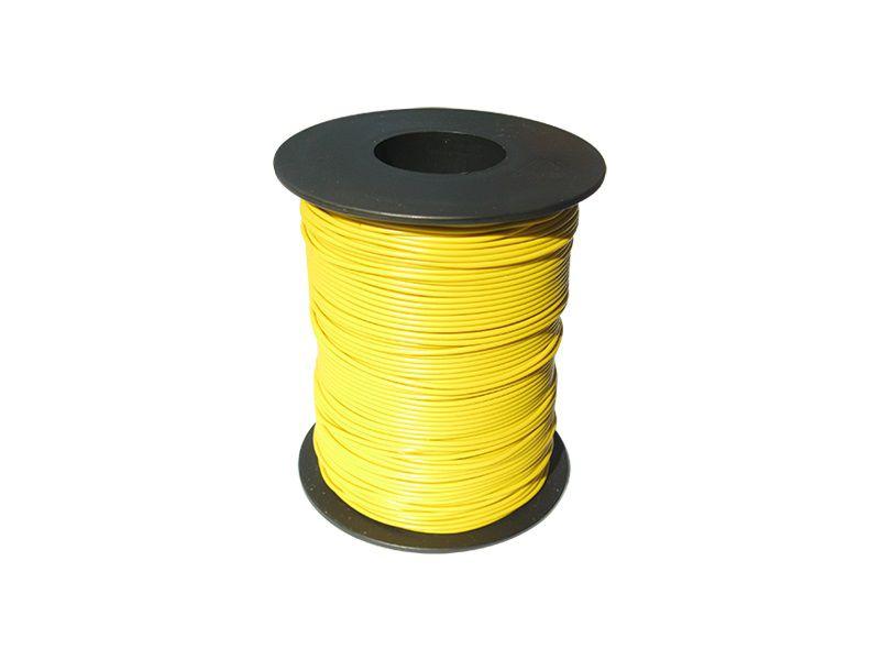 100 m LIY Kabel Litze gelb 0,14 mm² flexibel Kupferlitze Schaltlitze