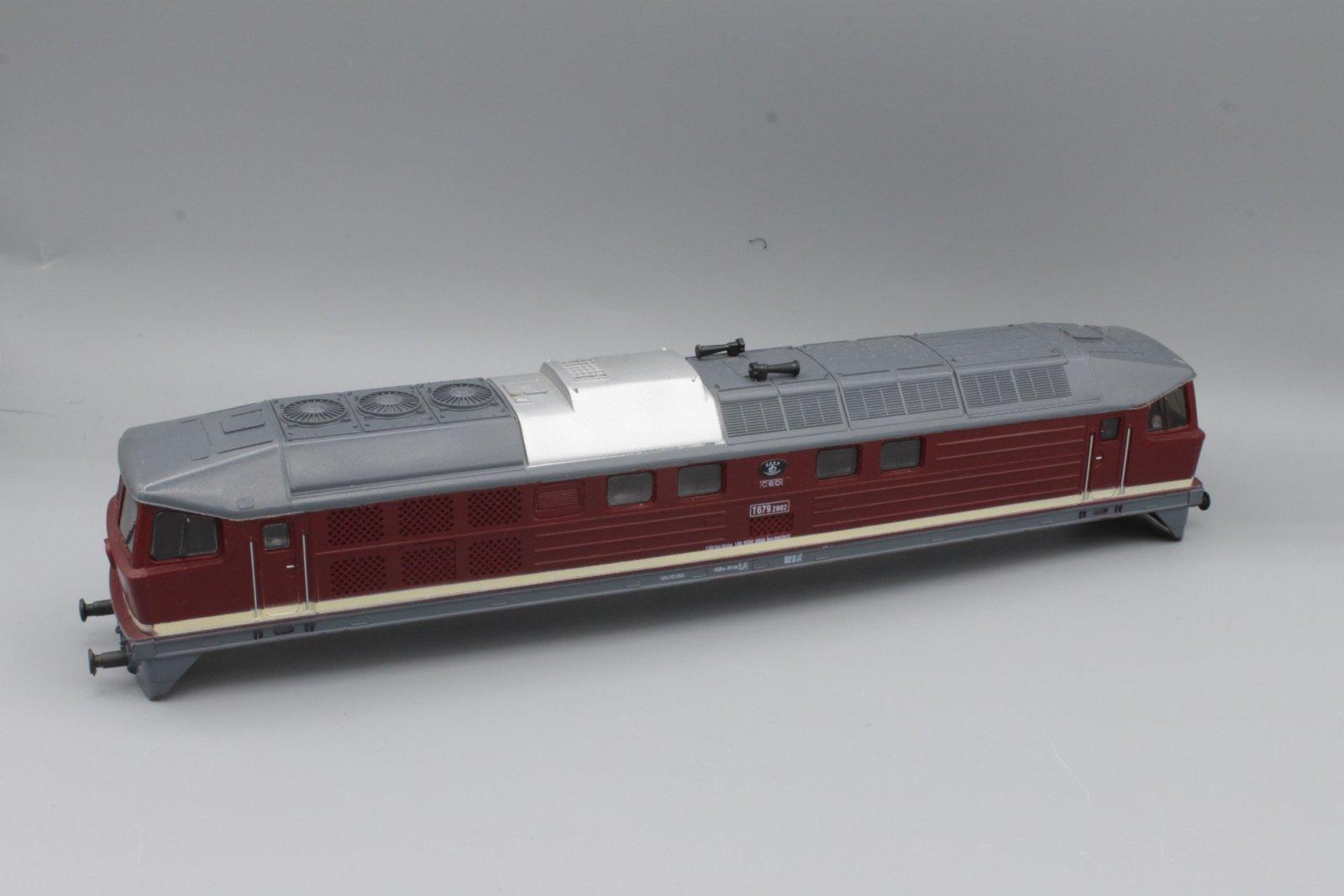 Ersatzteil Piko 130 Gehäuse T679 2002 CSD - rot - (DDR-Produktion)