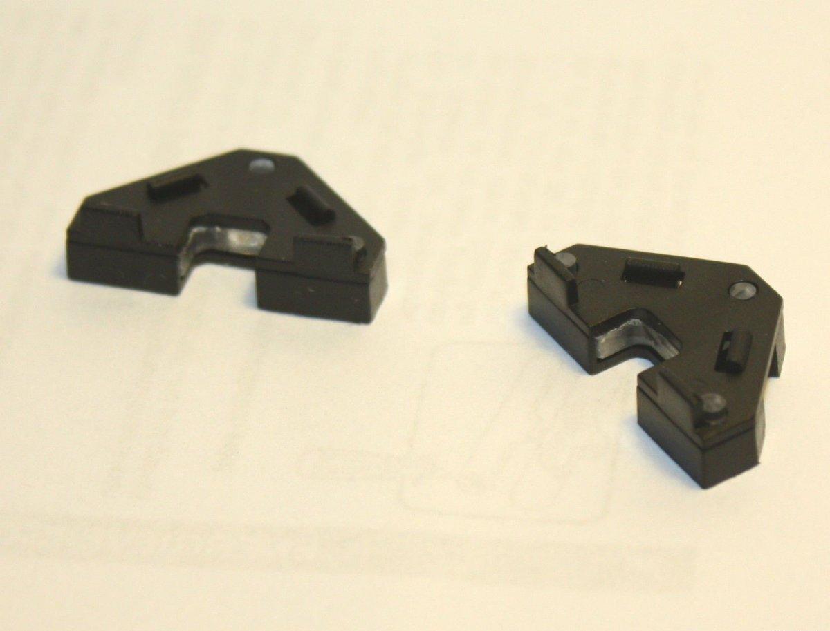 Ersatzteil Piko H0 189 / ES64 F4 Lichtleiter / Lichteinsätze  2 Stück
