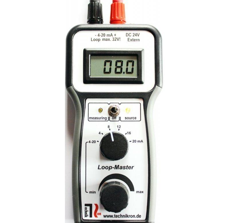 4 - 20 mA Stromgeber  Loop Master von Technikron