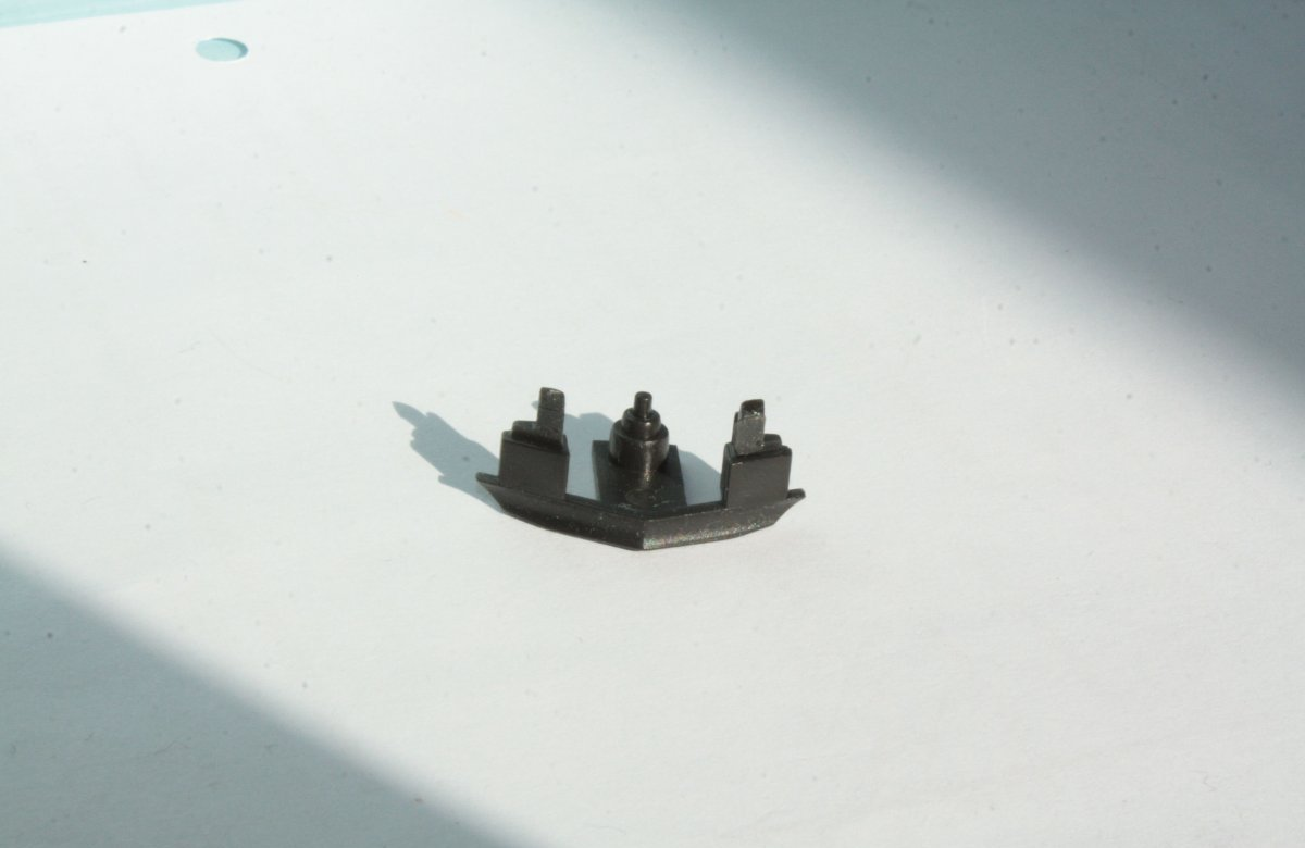 Ersatzteil Piko H0 189 Schienenräumer steckbar -schwarz
