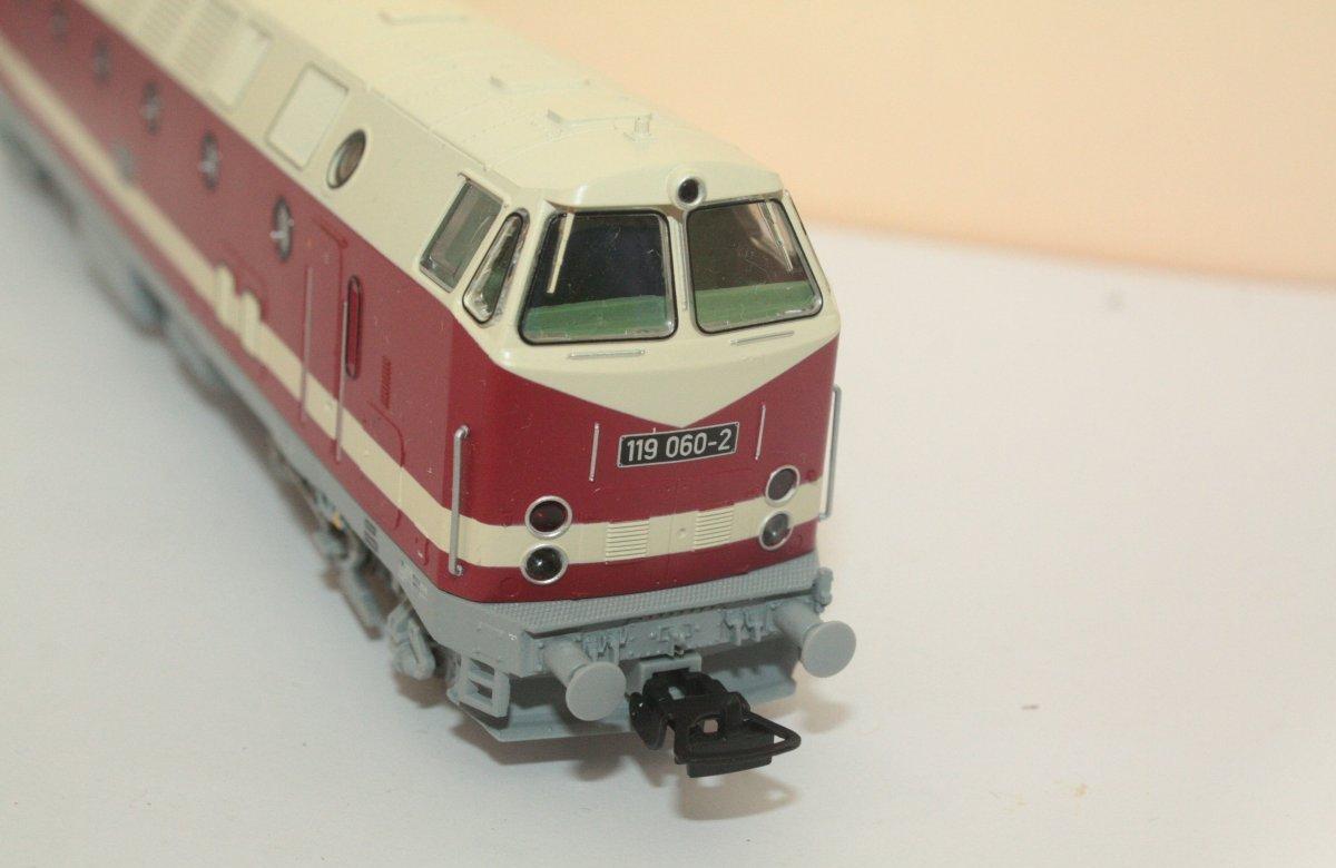 Piko 59930 Diesellok 119 060-2 Spur H0 - digital (D&H) mit Sound (Henning)
