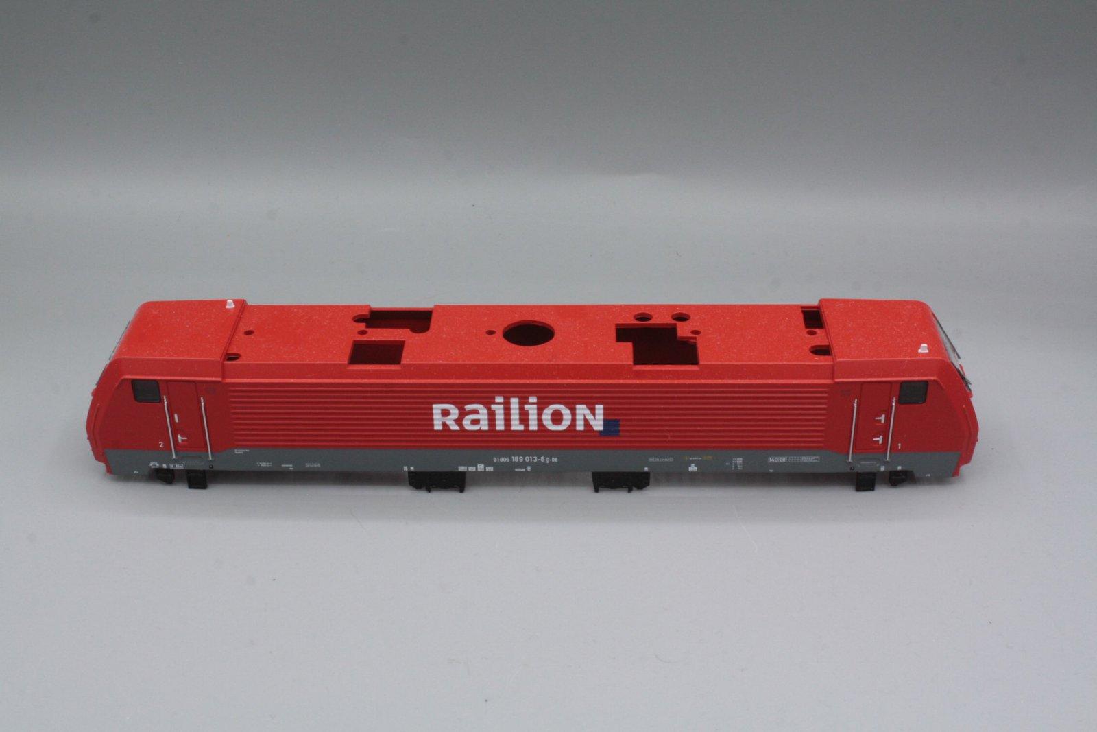 Ersatzteil Piko 189 013-6 Gehäuse Railion verkehrsrot