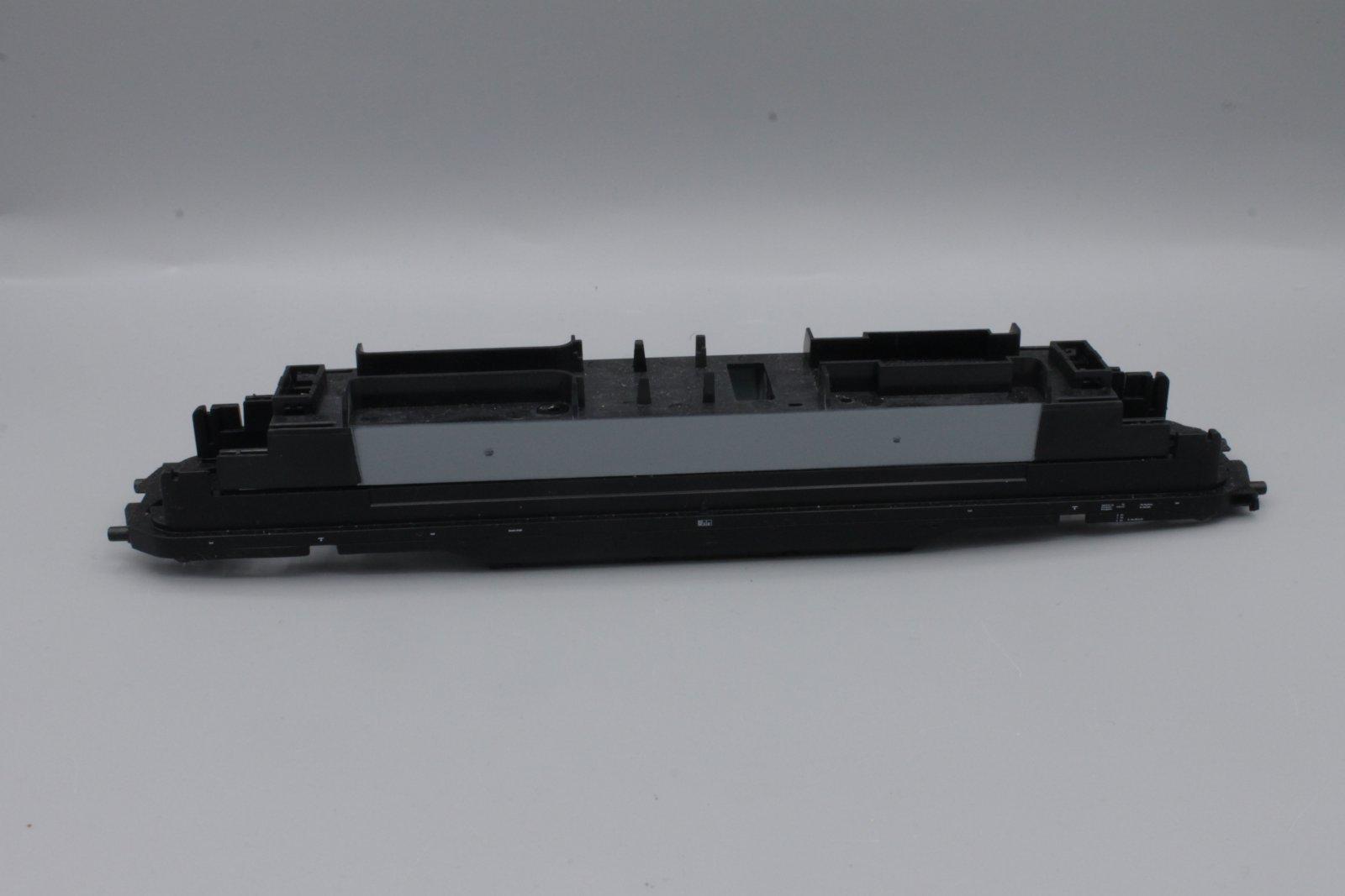 Ersatzteil Piko H0 118.5 Rahmen schwarz - mit Motorhalter