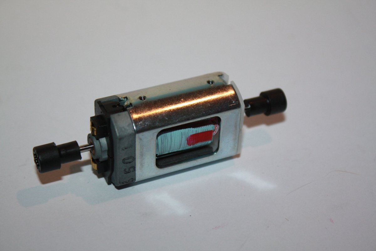 Ersatzteil Roco Motor 5-polig - diverse Baureihen - ohne Schwungmasse