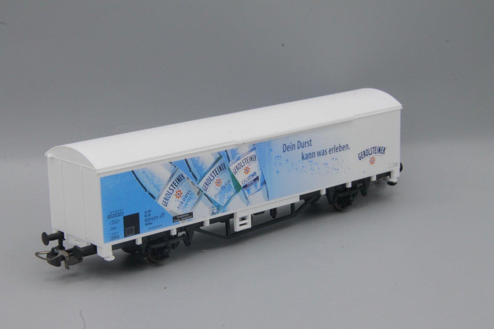 Piko Gbs - 2-achsiger gedeckter Güterwagen - weiß - Gerolsteiner
