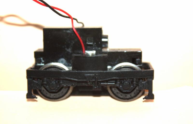 Ersatzteil Piko 185 / 146 Drehgestell komplett Radsatz Getriebe  unbedruckt