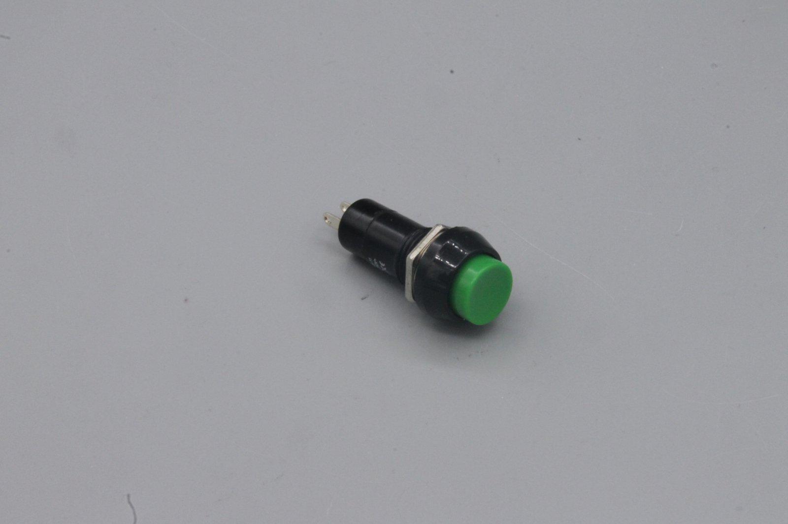 Einbau-Drucktaster PBS-11B , grün, rund