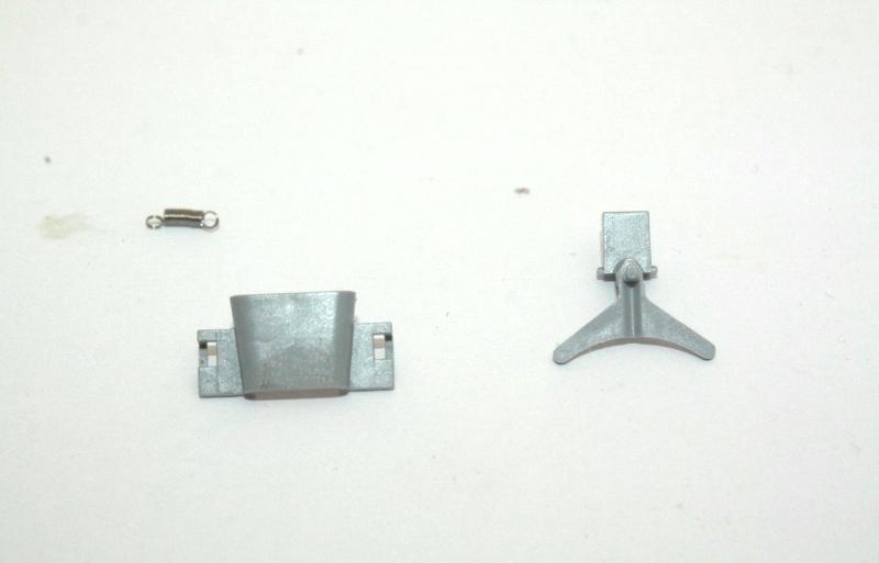 Ersatzteil Piko H0 119 / 219 Kupplungsteile - Kulissendeichsel mit Schacht+Feder