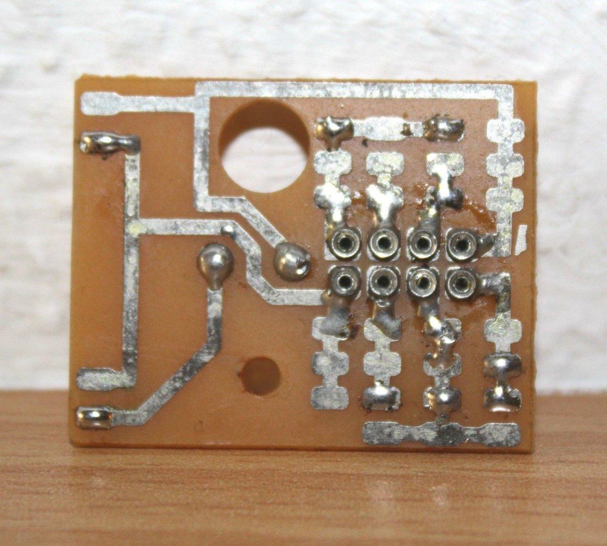 Ersatzteil Piko H0 Hauptplatine - mit NEM-Buchse