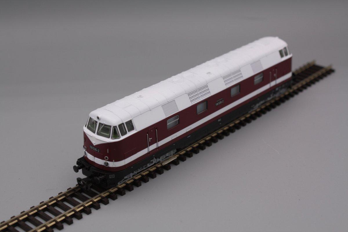 Piko 47280 Diesellok 118 525-5 Spur TT - digital (D&H) mit Sound (Henning-Sound)
