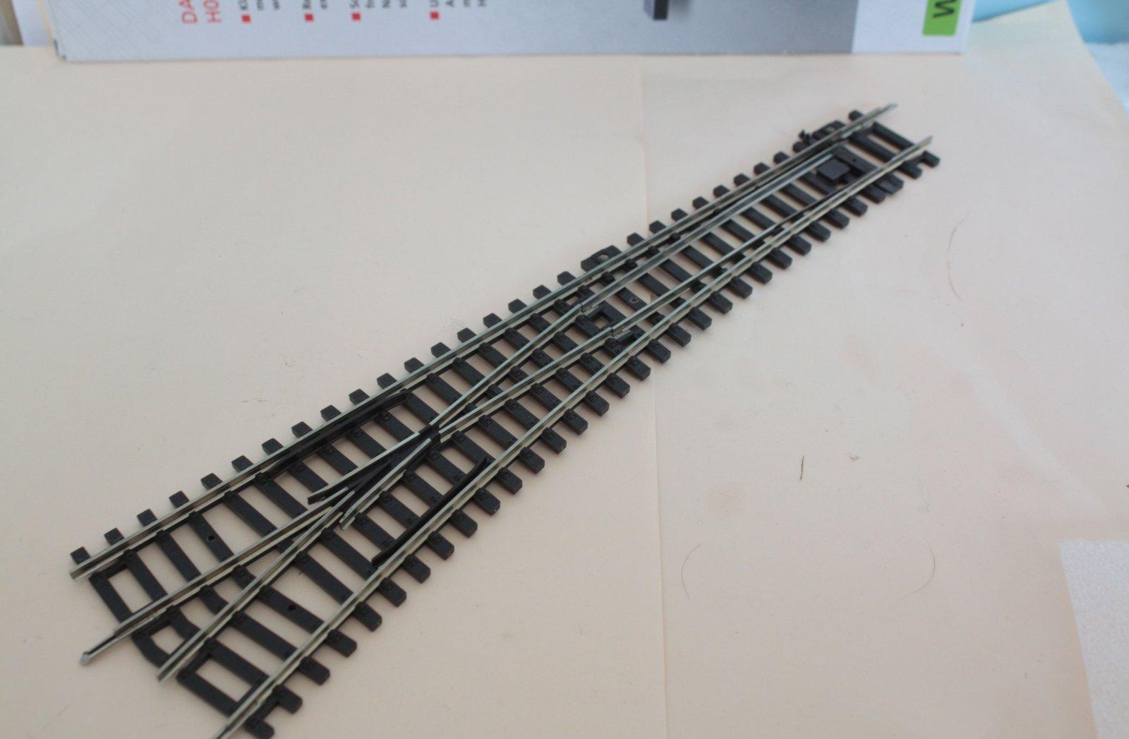 Piko 55220  A-Gleis - Weiche links - neuwertig aus Startset