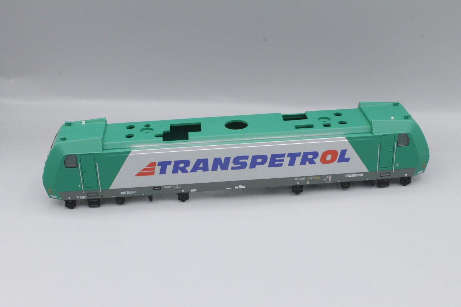 Ersatzteil Piko Gehäuse 185 543-6 Transpetrol grün/silber