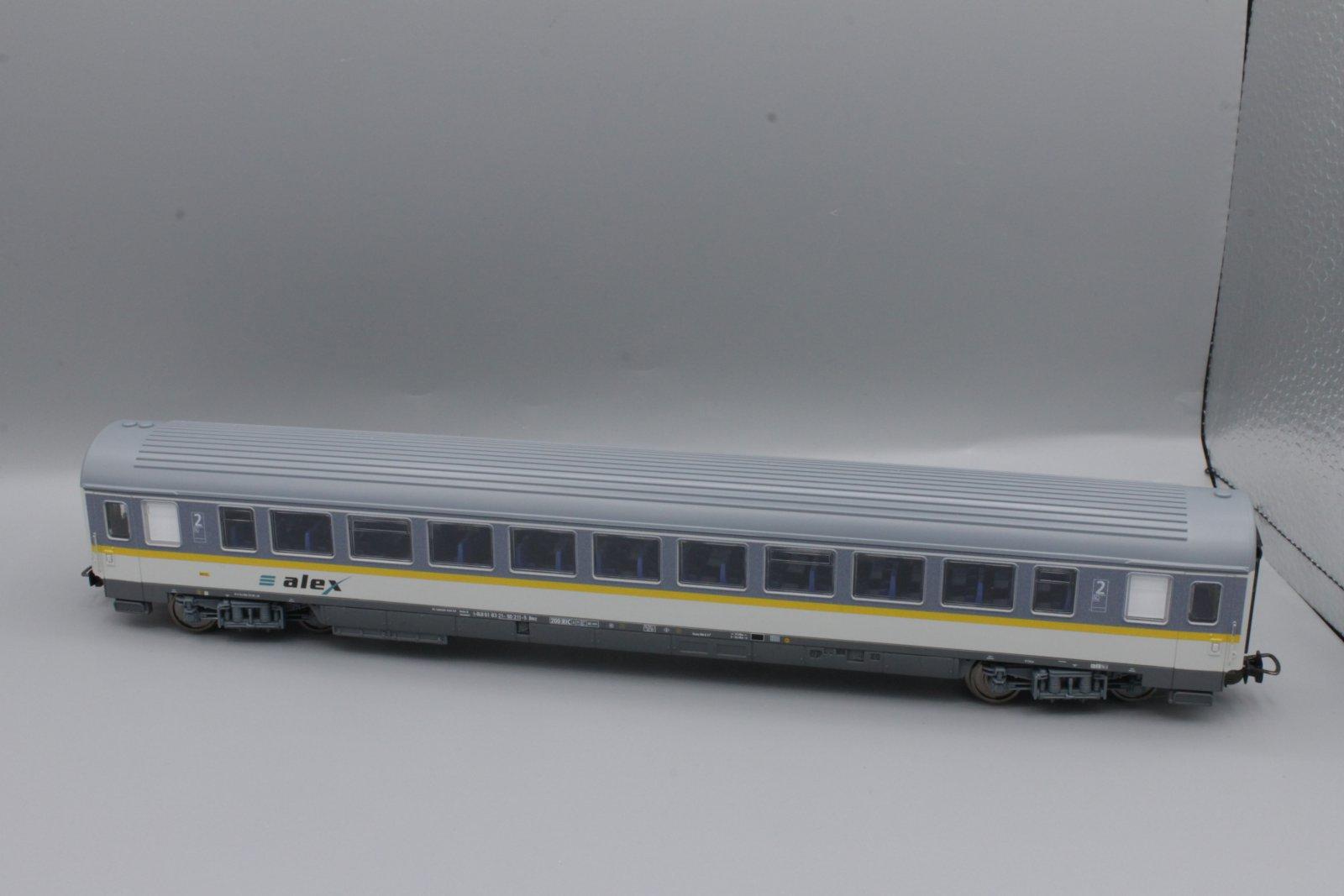Piko H0 2. Kl.Großraumwagen ALEX  Neuware aus Startset 57137