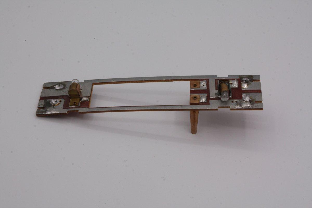 Ersatzteil Roco 215 / 218  Hauptplatine ohne NEM-Buchse mit Glühlampen